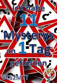 11 Mysterys an einem Tag - Challenge am 21.01.2017
