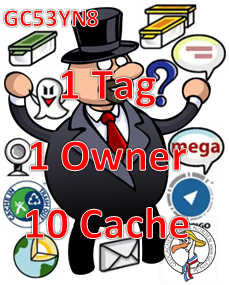 1 Tag- 1 Owner - 10 Cache - Challenge am 21.01.2017